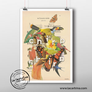 Artprint happy birds