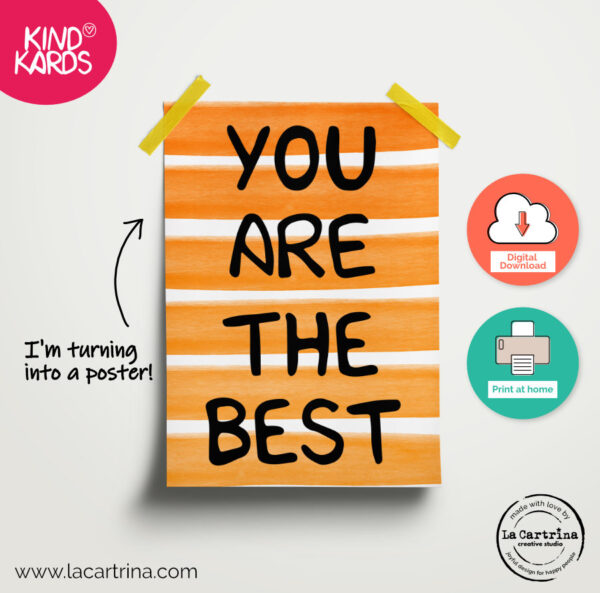 you are the best poster