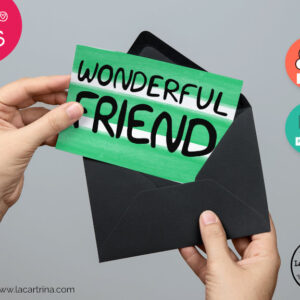 You are a wonderful friend greeting card